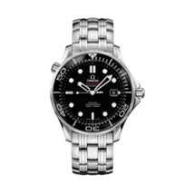 omega_steel_&_black_dial_seamaster_diver_300m_co-axial_watch,_41mm