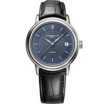 Raymond_Weil_Maestro_Men's_Strap_Watch,_Blue_Dial