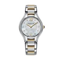 Raymond_Weil_Noemia_Women's_Bracelet_Watch,_Two_Tone_with_62_Diamonds