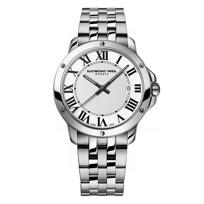 Raymond_Weil_Tango_Men's_Bracelet_Watch,_White_Dial_&_Roman_Numerals
