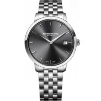 Raymond_Weil_Toccata_Men's_Bracelet_Watch,_Grey_Dial