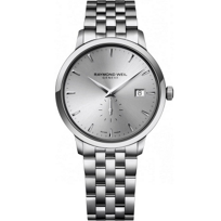 Raymond_Weil_Toccata_Men's_Bracelet_Watch,_Silver_Dial