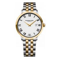 Raymond_Weil_Toccata_Men's_Two-Tone_Bracelet_Watch,_Roman_Numerals