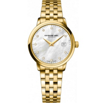 Raymond_Weil_Toccata_Women's_Bracelet_Watch,_Yellow_Tone