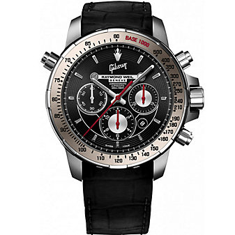 Raymond Weil Nabucco Gibson Special Edition Men's Rubber Strap Watch