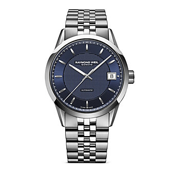 Raymond Weil Freelancer Men's Bracelet Watch, Blue Dial