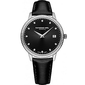 Raymond Weil Toccata Women's Strap Watch, 0.28cttw