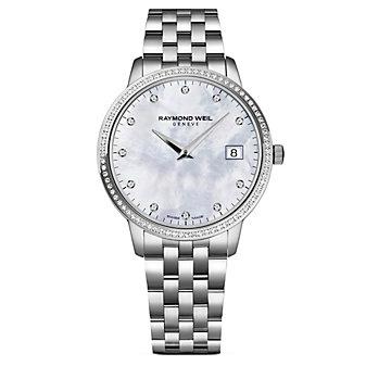 Raymond Weil Toccata Women's Bracelet Watch, 0.28cttw
