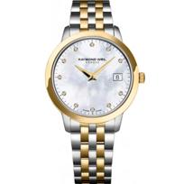 Raymond_Weil_Toccata_Women's_Two-Tone_Bracelet_Watch,_MOP_Dial