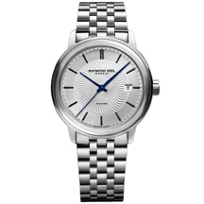 raymond_weil_maestro_silver_index_dial_39.5mm_men's_watch,_steel_on_steel