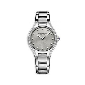 Rayond Weil Noemia Women's Bracelet Watch, Gray Dial