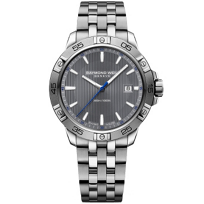 Raymond_Weil_Tango_300_Stainless_Steel_and_Grey_Dial_Men's_Watch_with_Date