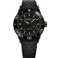 Raymond_Weil_Freelancer_Automatic_Date_Green_Index_Men's_Watch