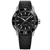 Raymond_Weil_Freelancer_Automatic_Date_Silver_Index_Men's_Watch