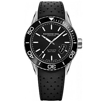 Raymond Weil Freelancer Automatic Date Silver Index Men's Watch