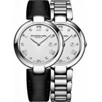 Raymond_Weil_Shine_Steel_&_Diamond_Dial_Women's_Watch_with_Interchangeable_Bracelets