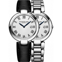 Raymond_Weil_Shine_Black_Roman_Women's_Watch_with_Interchangeable_Bracelets