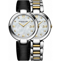 Raymond_Weil_Shine_Two-Tone_Stainless_Steel_Women's_Watch_with_Interchangeable_Bracelets