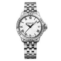raymond_weil_tango_30mm_women's_watch,_steel_on_steel,_white_dial