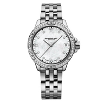 raymond_weil_diamond_tango_30mm_women's_watch,_steel_on_steel