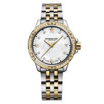 raymond_weil_diamond_bezel_&_dial_tango_30mm_women's_watch,_two_tone