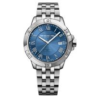 raymond_weil_tango_41mm_men's_watch,_steel_on_steel,_blue_dial
