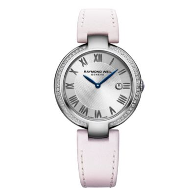 raymond weil shine diamond women's watch with interchangeable bracelets