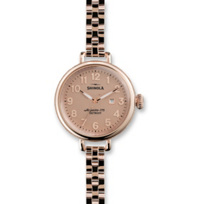 Shinola_The_Birdy_Women's_Watch_34mm,_Bracelet_with_Rose_Tone_Case_and_Dial