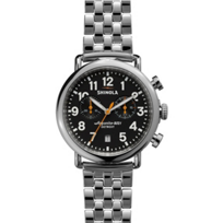 Shinola_Runwell_Chronograph_41mm_Men's_Bracelet_Watch,_Black_Dial