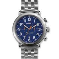 Shinola_Runwell_Chronograph_47mm_Men's_Bracelet_Watch,_Blue_Dial_with_Silver_Tone_Case