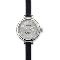 Shinola_The_Birdy_Women's_Watch_34mm,_Double_Wrap_Black_Strap_with_Silver_Tone_Case_and_Dial