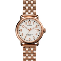 Shinola_Runwell_41mm_Men's_Watch,_Rose_Case_and_Bracelet