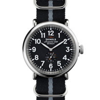 Shinola_Runwell_47mm_Men's_Watch,_Black_Nylon_Strap