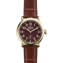 Shinola_Runwell_36mm_Men's_Watch,_Burgundy_Dial_and_Strap