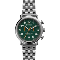 Shinola_Runwell_Chrono_41mm_Men's_Watch,_Green_Dial