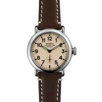 Shinola_Runwell_36mm_Strap_Watch,_Cream_Dial_with_Brown_Strap