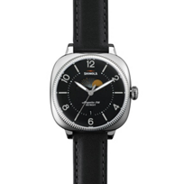 Shinola_Gomelsky_Moon_Phase_36mm_Men's_Leather_Strap_Watch,_Black_Dial