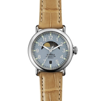 Shinola_Runwell_Moon_Phase_36mm_Women's_Watch,_Silver_Tone_Case_with_Slate_Blue_Dial__
