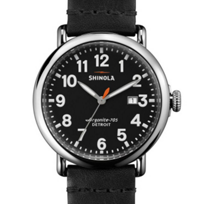 Shinola_Stainless_Steel_Runwell_41mm_Black_Dial_Watch