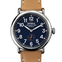 shinola_runwell_41mm_watch,_stainless_steel_with_blue_dial