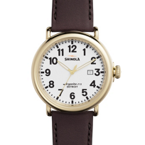 Shinola_Runwell_Gold-Plated_47mm_Oxblood_Boothbay_Leather_Strap_Watch