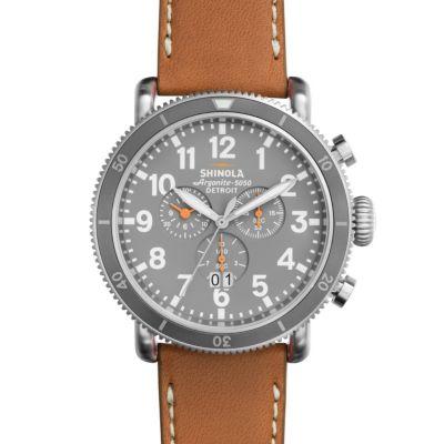 Shinola Runwell Sport Chrono 48mm Slate Gray Dial Watch