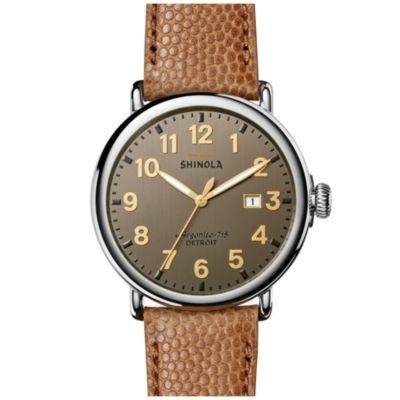 Shinola Runwell 47MM Grey Watch