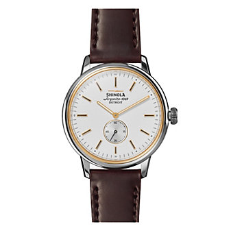shinola bedrock men's 42mm watch