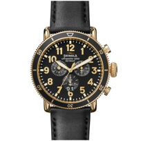 shinola_runwell_sport_chrono_men's_48mm_watch,_black_leather_&_pvd_gold