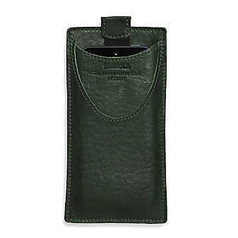 Shinola Green Leather Case for iPhone