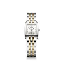 Swiss_Army_Alliance_Rectangle_Two_Tone_Bracelet_Watch,_Silver_Dial
