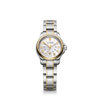 Swiss_Army_Xsmall_Officer_Two-Tone_Bracelet_Watch,_Mother_of_Pearl_Dial