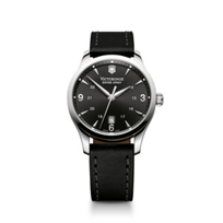 Swiss_Army_Alliance_Strap_Watch,_Black_Dial
