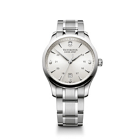 Swiss_Army_Alliance_Bracelet_Watch,_Silver_Dial